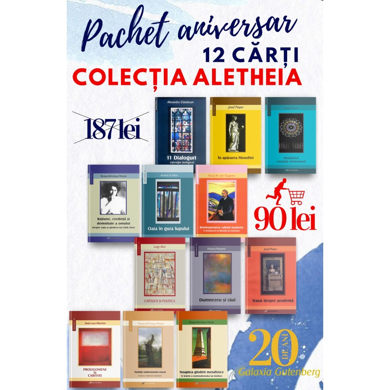 Pachet aniversar - Colecţia Aletheia