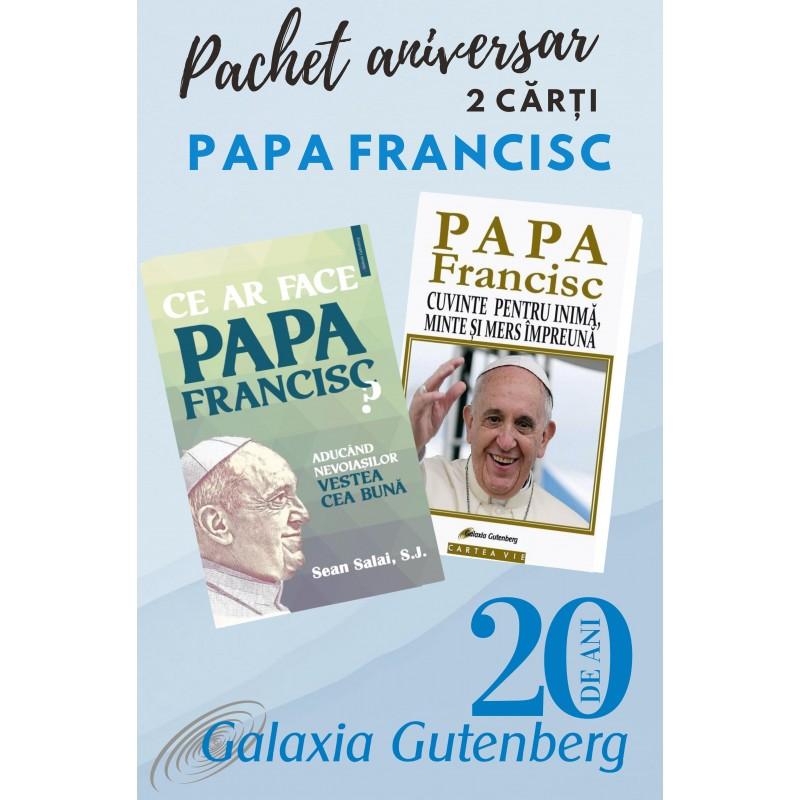 Pachet aniversar - Papa Francisc