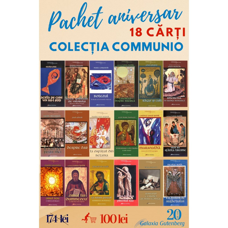 Pachet aniversar - Colecţia Communio
