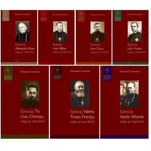 """Set 7 volume """"Episcopi martiri"""""""