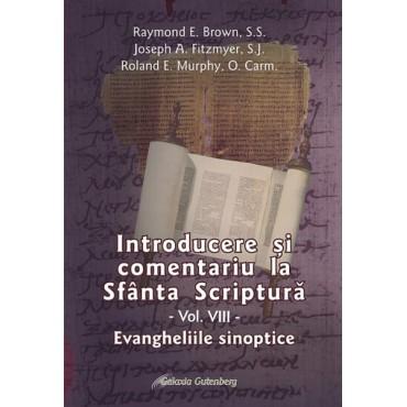 Introducere şi comentariu la Sfânta Scriptură vol. VIII: Evangheliile sinoptice